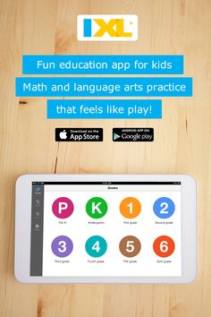 Math and language arts practice at your fingertips! Free app for K-12 students, available on iPad, Android and Kindle Fire.
