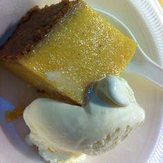 Cornmeal Pudding & V