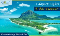 Book a package for Mauritius and get flat 20% discount on airfare. Hurry up! Call Now at +91-9873001300