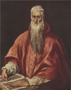 View St Jerome as Cardinal By El Greco; Oil on canvas; 59 x 48 cm; Access more artwork lots and estimated & realized auction prices on MutualArt. Renaissance Fashion, Renaissance Art, Gouache, James Mcneill Whistler, St Jerome, Creta, Spanish Painters, John The Baptist, Art Database