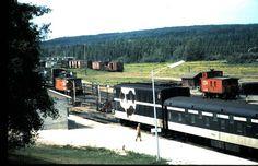 CN Auto Transporter, Hornepayne Ontario undated FB photo