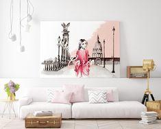 Available format: art paper, canvas. Paris Illustration, Pink Paris, Shop Art, Wall Decor, Wall Art, Insta Art, Buy Art, Posters, France