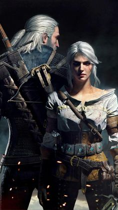 Witcher 3_Geralt&Ciri
