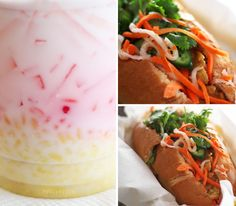Vietnamese dessert & delicious sandwiches from Little Vietnam Cafe | 309 6th Ave | across the street from Green Apple Books at 6th & Clement | #SF