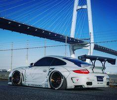 """Tuning Generation (@tuninggeneration) on Instagram: """"Porsche 997 #kit #libertywalk #porsche #997 #porsche997 #porscheclub #design #tuning #tuningcars…"""""""
