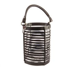 Richmond Glass Lantern Lanterns, Glass, Leather, Collection, Drinkware, Corning Glass, Lamps, Lantern, Light Posts