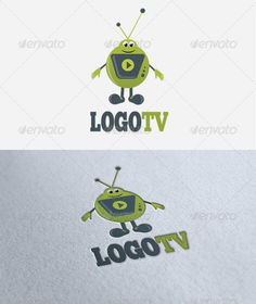 Logo TV — Vector EPS #television #media • Available here → https://graphicriver.net/item/logo-tv/1871577?ref=pxcr