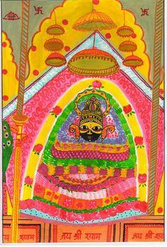 श्याम बाबा का सच्चा दरबार, painting by jai shekhar