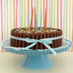 Chocolat Birthday Cake / Bolo de Aniversário de Chocolate com Pintarolas