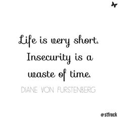 Be yourself! #inspo #quote #dvf