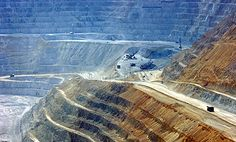The Bingham Canyon Mine - World's Largest Open Pit Mine