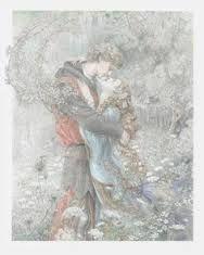 Craft, Kinuko Y Lovers in Woods illustration for Aucassin et Nicolette Fairytale Art, Gif Animé, Art And Illustration, Old Art, Art Reference, Fantasy Art, Fairy Tales, Concept Art, Art Drawings