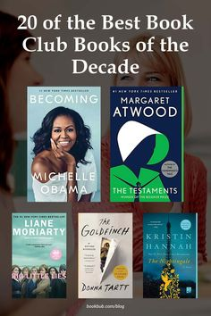 Looking for the best books to read with your book club? Check out these recommendations from the past decade. #books #bookclub #bookclubbooks