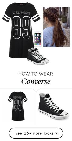 """""""Untitled #468"""" by hannahmcpherson12 on Polyvore featuring moda, Ally Fashion e Converse"""