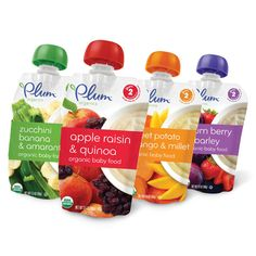 Plum Organics - delicious blends!