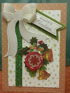 Card made with the Anna Griffin Kit on HSN...Sandra Frutchey