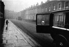 Robert Frank in London.