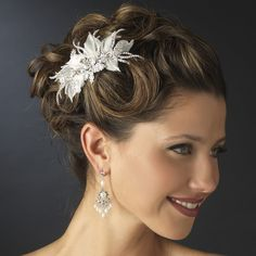 Ivory Wedding Hair Accessories