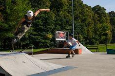 skatepark │ Park Miejski │ Bytom │ fot. Natalia Bojanowicz