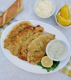 Chicken Cutlet Recipes, Cutlets Recipes, Chicken Parmesan Recipes, Best Chicken Recipes, Herb Bread, Lemon Bread, Recipe Using Chicken, Sauce For Chicken, Chicken Milanese