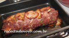 Rocambole de carne moída recheada  http://www.receitadevovo.com.br/receitas/rocambole-de-carne-moida-recheada