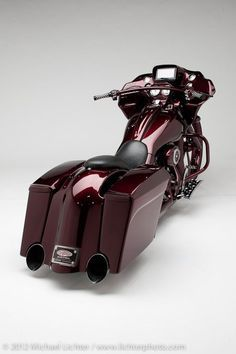 Camtech Customs Plum Road Glide right 3/4 profile