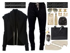 """""""Don't Stress Me"""" by diamxo ❤ liked on Polyvore featuring adidas, Marc by Marc Jacobs, S'well, Maison Margiela, Fendi, DRKSHDW, STELLA McCARTNEY, Chanel and Alpina"""