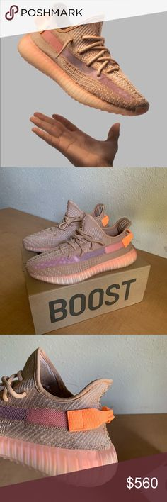 5346e4337 Yeezy boost 350 V2 Clay size 10 men This is a pair of Adidas Yeezy Boost