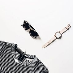 flat lay layout design of clothes