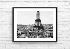 Paris Photography, Fine Art Photography, Travel Photography, Paris Paris, Rooftops, Printing Services, Printable Wall Art, Travel Photos, Tower