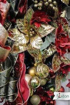Tendencia clásica - Decoración navideña - Tendencias navideñas 2018. - Ideas de decoración navideña. Christmas Wreaths, Holiday Decor, Ideas, Home Decor, Trends, Decoration Home, Room Decor, Home Interior Design, Thoughts