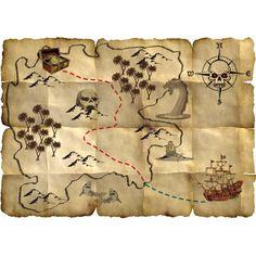 Pirate ~Carte au trésor~ - Rêves & Merveilles