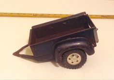 1957 Tonka Dark Blue Box Trailer from Truck-Trailer Rental Set No.B-204  | eBay