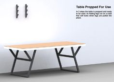 Image result for cool folding table