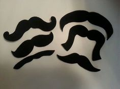 20 Pack Adhesive Felt Mustache Pack ADULT SIZE by StacheMeIfYouCan, $10.00