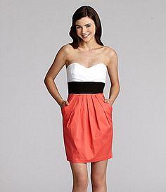 B Darlin Colorblock Dress #Dillards