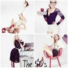 The 50's - from Free People.
