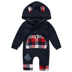 Mother & Kids Rompers Pudcoco 2019 Brand New Newborn Infant Baby Boys Clothes Hoodies Zipper Romper Jumpsuit Harem Outfits Making Things Convenient For Customers