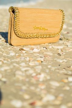 Lilly Pulitzer Happy Hour Clutch shown in Natural.