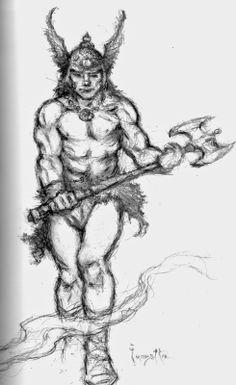 Cap'n's Comics: Conan by Frank Frazetta