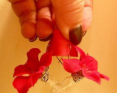 Hummingbird Feeder Earrings, Handcrafted and Unique! HUM-Ear™ by HUM-fi™ Hummingbird Feeders -    Edit Listing  - Etsy