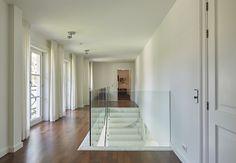 Scheuten glas leverde de balustrades, die gemaakt werden door Fransman Glas.