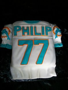 b371d25a 55 Best Miami Dolphins Cakes images in 2016 | Miami dolphins cake ...