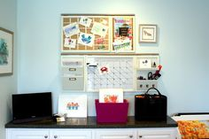 Pottery Barn Daily System - modern - home office - richmond - Bright Bold and Beautiful