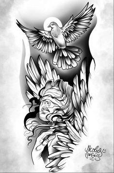 Forarm Tattoos, Forearm Sleeve Tattoos, Dope Tattoos, Hand Tattoos, Girl Tattoos, Tattoos For Guys, Gangsta Tattoos, Skull Girl Tattoo, Girl Face Tattoo