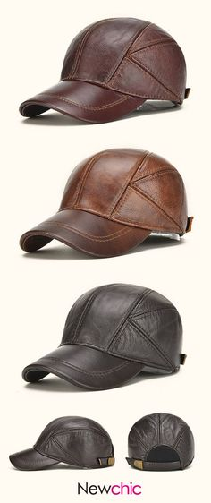 Fall Winter Outfit  Mens Baseball Caps With Ear Flaps   Outdoor Warm  Trucker Hats 3181b66eb592