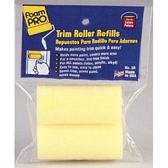 ROLLER COVER FOAM 3X1-3/8IN #tinycabins Below The Surface, Tiny Cabins, Paint Supplies, Painting Trim, Cupboards, Cabinets, Cleaning, Fuzz, Contour