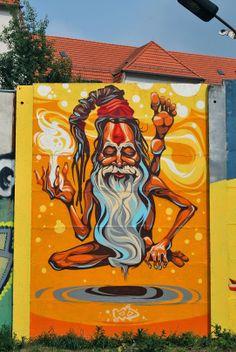 """#StreetArt  KD. """"Infinity"""".Berlin, Germany."""