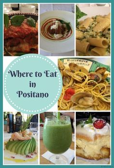 There are so many great restaurants in Positano -- here is a guide to help you�