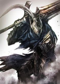 Artorias the Abysswalker - Dark Souls - Image - Zerochan Anime Image Board Arte Dark Souls, Dark Souls 3, Fantasy Character Design, Character Art, Bloodborne, Dark Fantasy, Fantasy Art, Dark Souls Artorias, Arte Cyberpunk